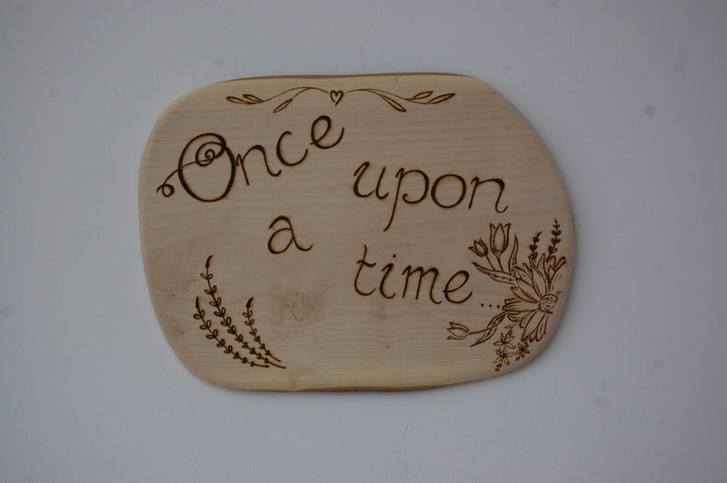 Once Upon a Time Wall Art