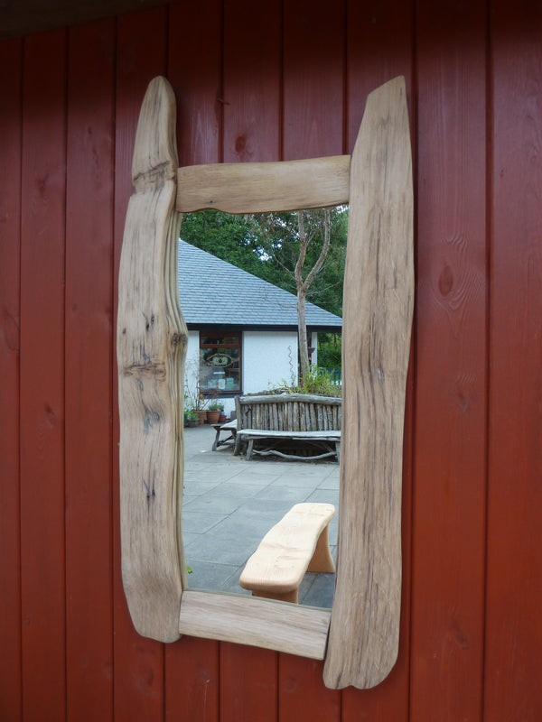 Reclaimed Oak Mirror