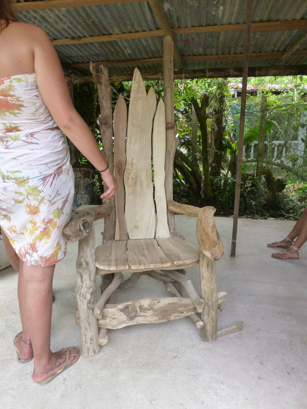 Driftwood Story Telling Chair