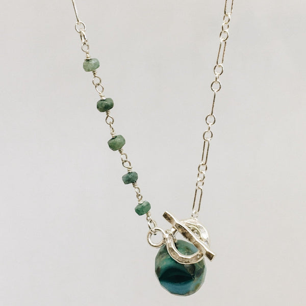 Chrysoprase Sterling Silver Jewelry