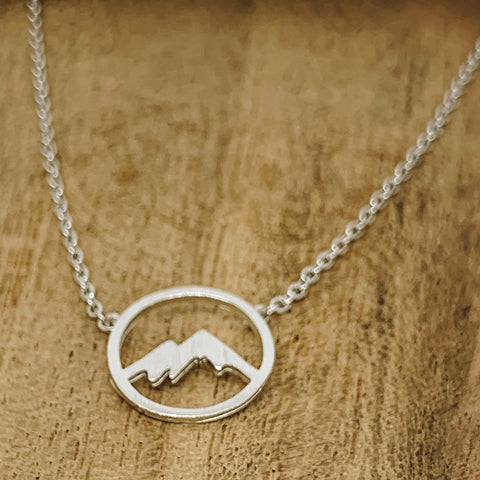 Circle Mountain Necklace