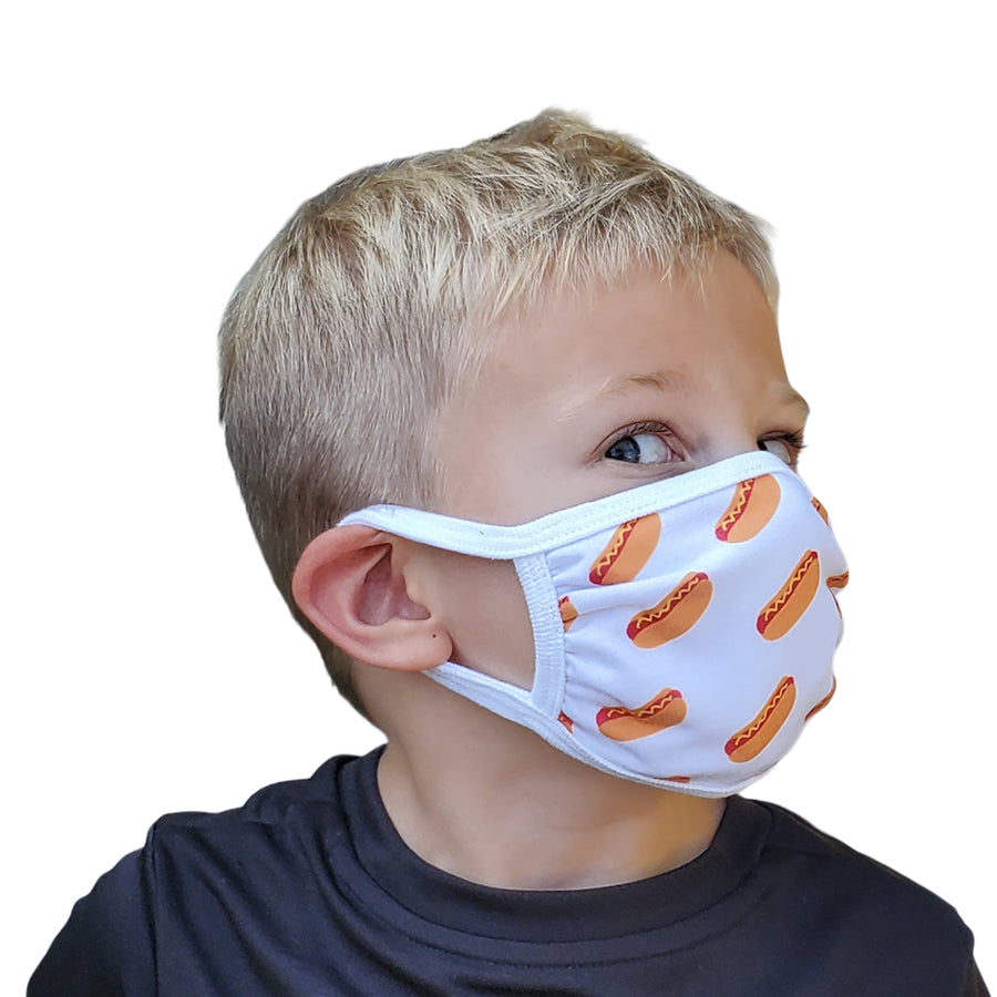 Hot Dog - Kids Mask