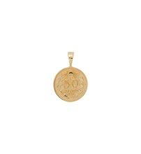 Afbeelding in Gallery-weergave laden, Peso coin necklace charm - Gold