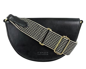 Laura black classic leather - black