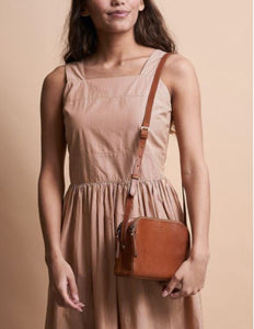 Emily cognac stromboli leather - cognac