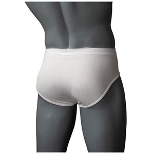 Brief-style Groin Protector with Cup