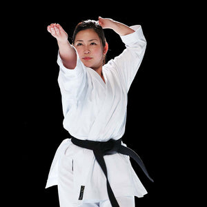 Emiko Kawasaki demonstrating another Karate Kata with HAYATE Karate Gi - CF-1 Classic Kata Set