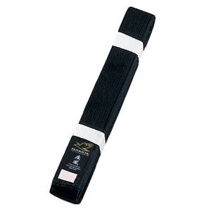 Deluxe Karate Black Obi Belt