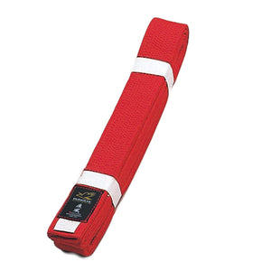 Deluxe Karate Red Obi Belt
