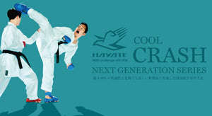 HAYATE Karate Gi - Cool Crash Kumite Set
