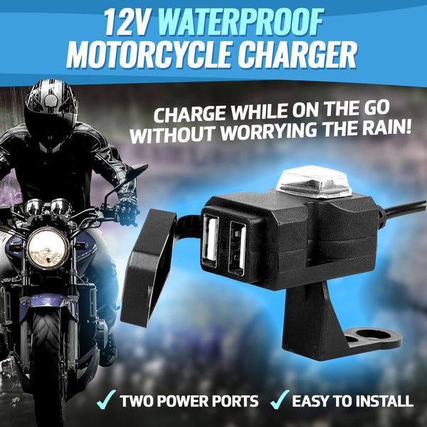 12V Waterproof Motorcycle Charger