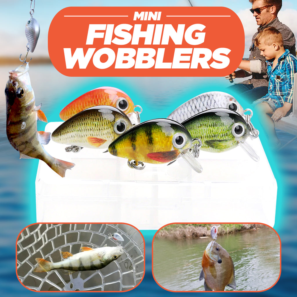 Mini Fishing Wobblers (BEST OFFER!)