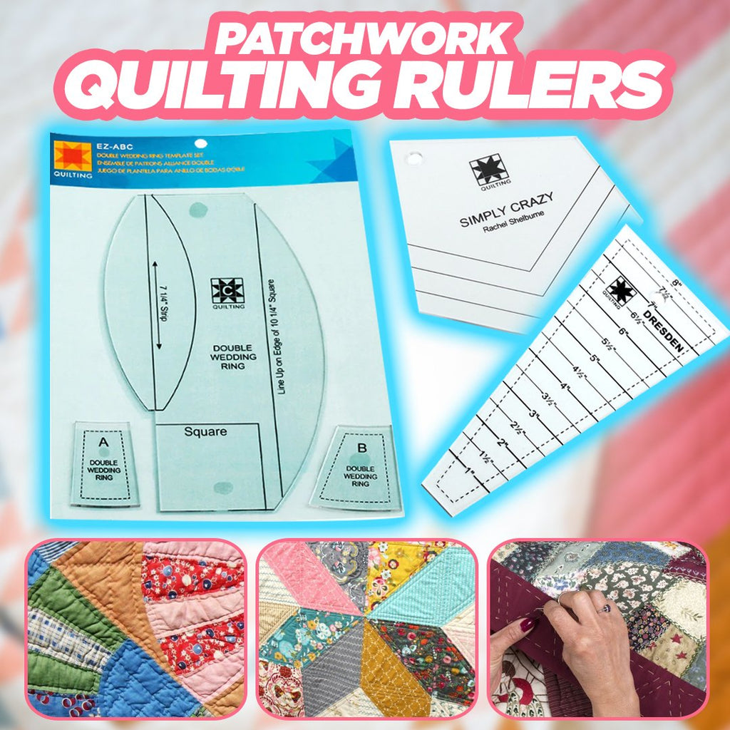 Patchwork Quilting Rulers