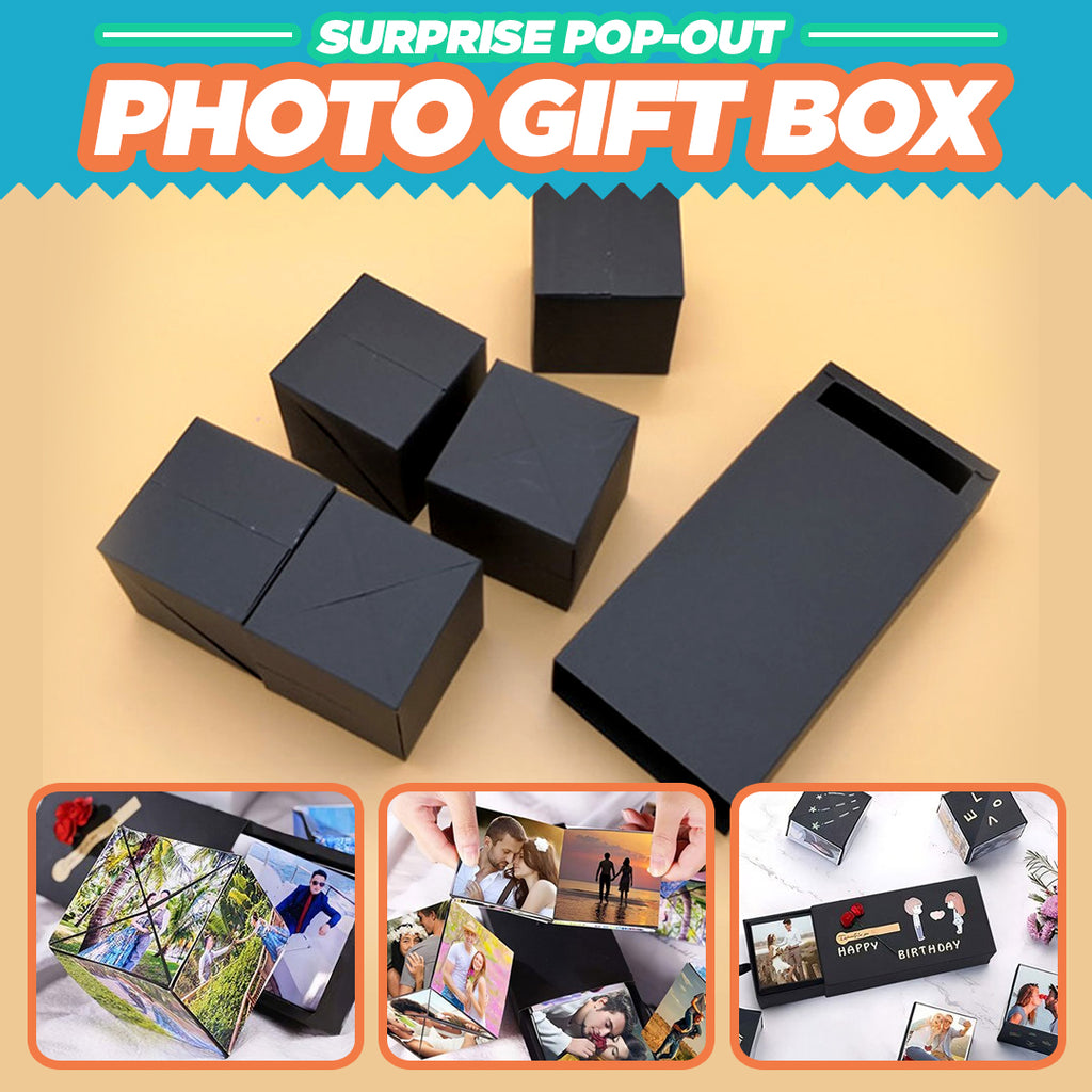 Surprise Pop-Out Photo Gift Box