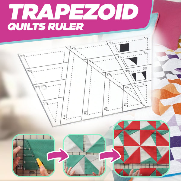 Trapezoid Quilts Ruler