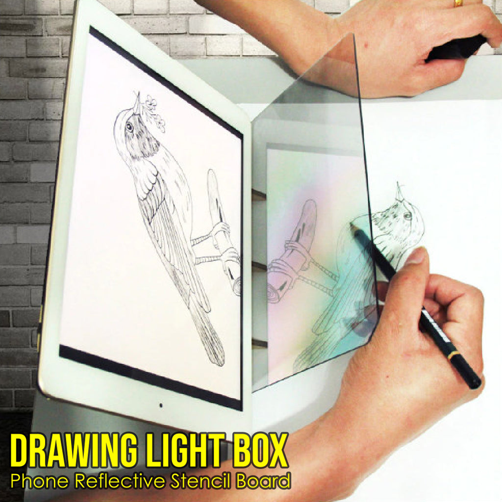 Drawing Light Box Phone Reflective Stencil Board