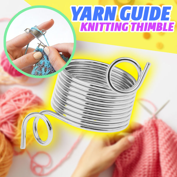 Yarn Guide Knitting Thimble