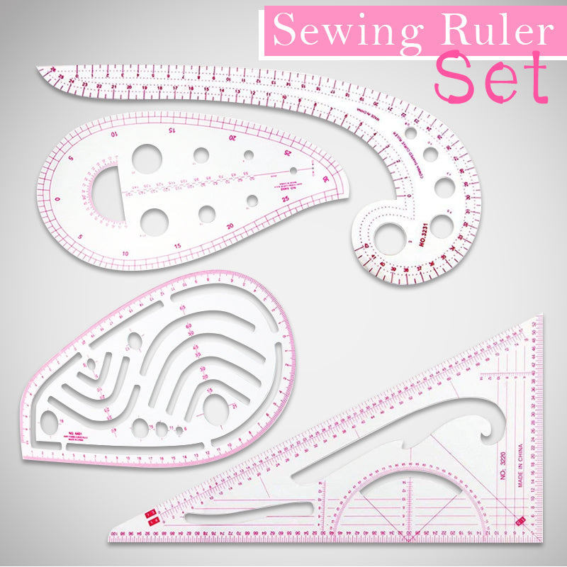 Sewing Ruler Set