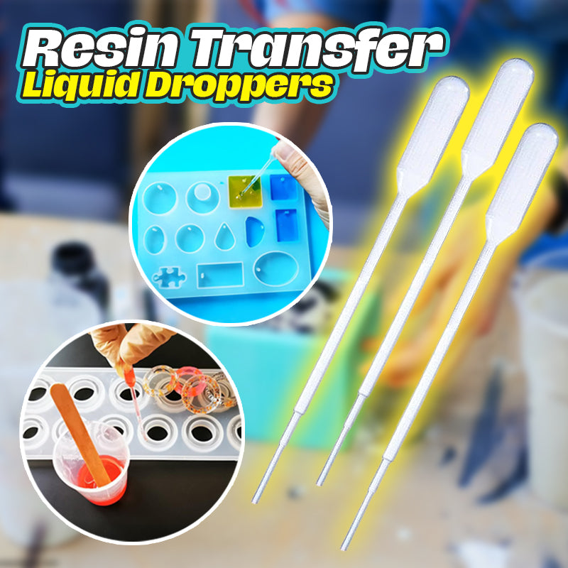 Resin Transfer Liquid Droppers