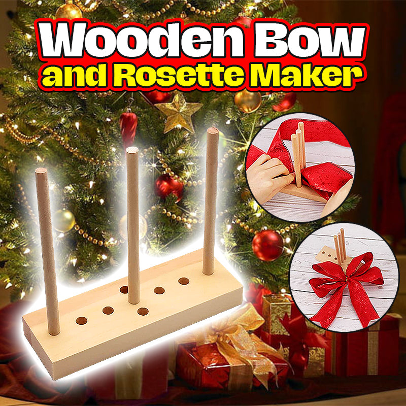 Wooden Bow and Rosette Maker