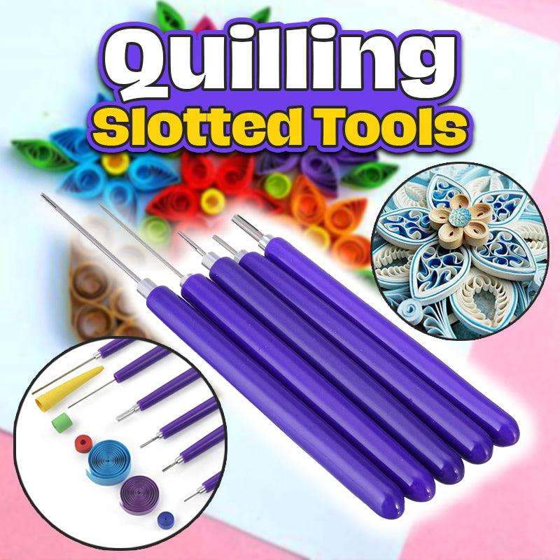 Quilling Slotted Tools (5 Pcs)
