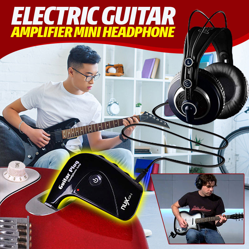 Electric Guitar Amplifier Mini Headphone Amp