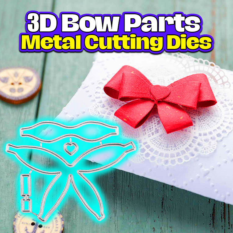 3D Bow Parts Metal Cutting Dies