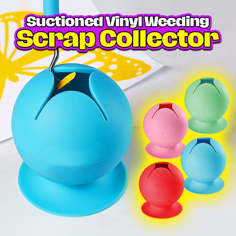 Suctioned Vinyl Weeding Scrap Collector
