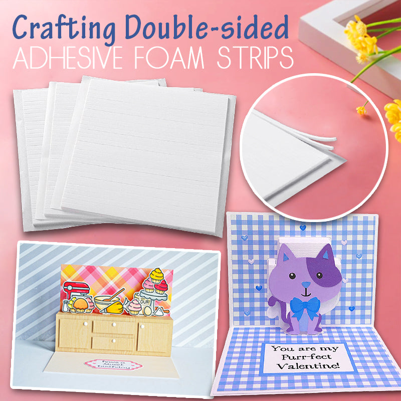 Crafting Double-sided Adhesive Foam Strips