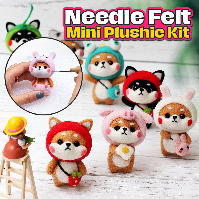 Needle Felt Mini Plushie Kit