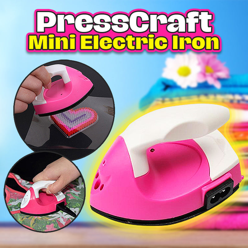 PressCraft Mini Electric Iron