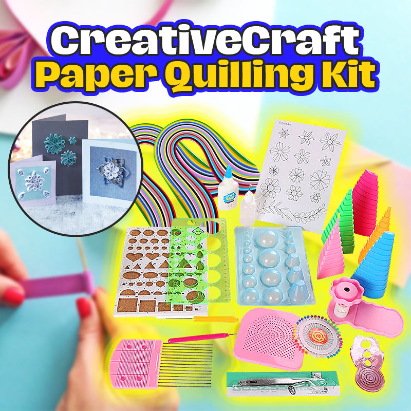 CreativeCraft Paper Quilling Kit
