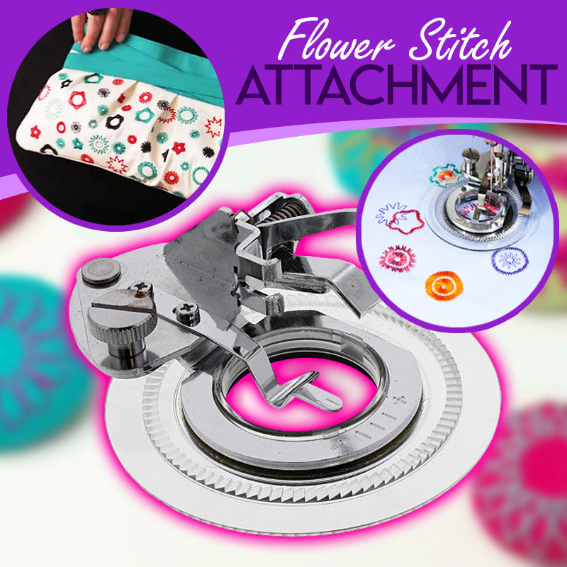 Sewing Machine Flower Stitch Attachment
