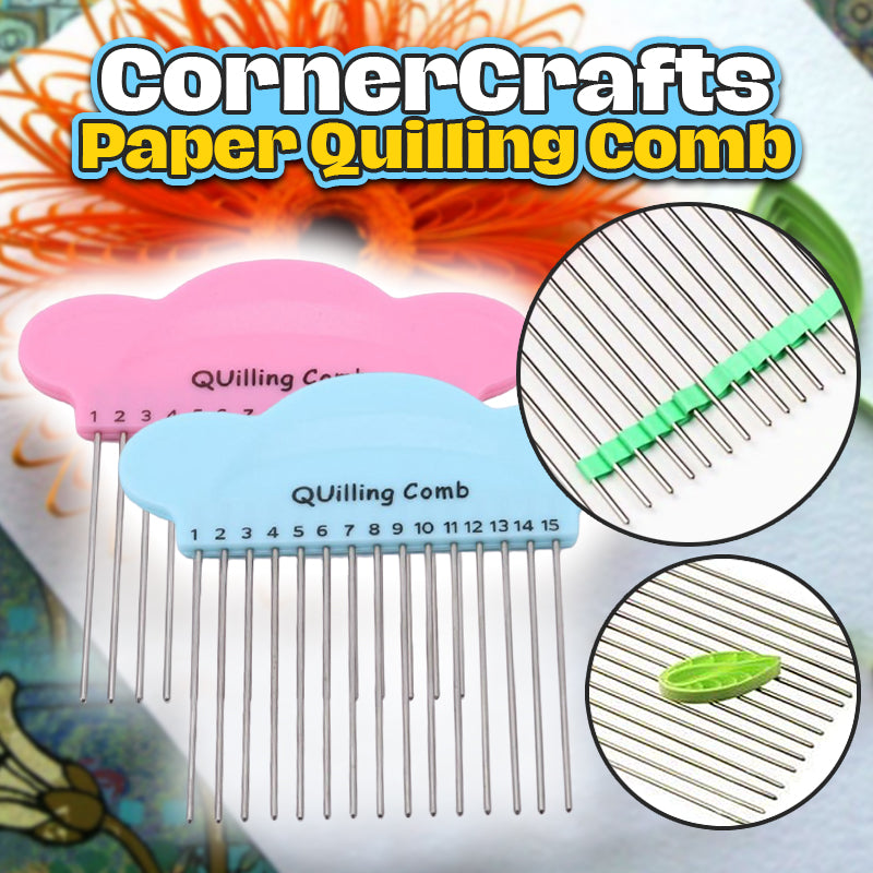 CornerCrafts Paper Quilling Comb