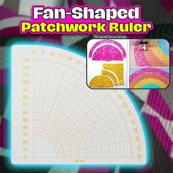 Fan-Shaped Patchwork Ruler