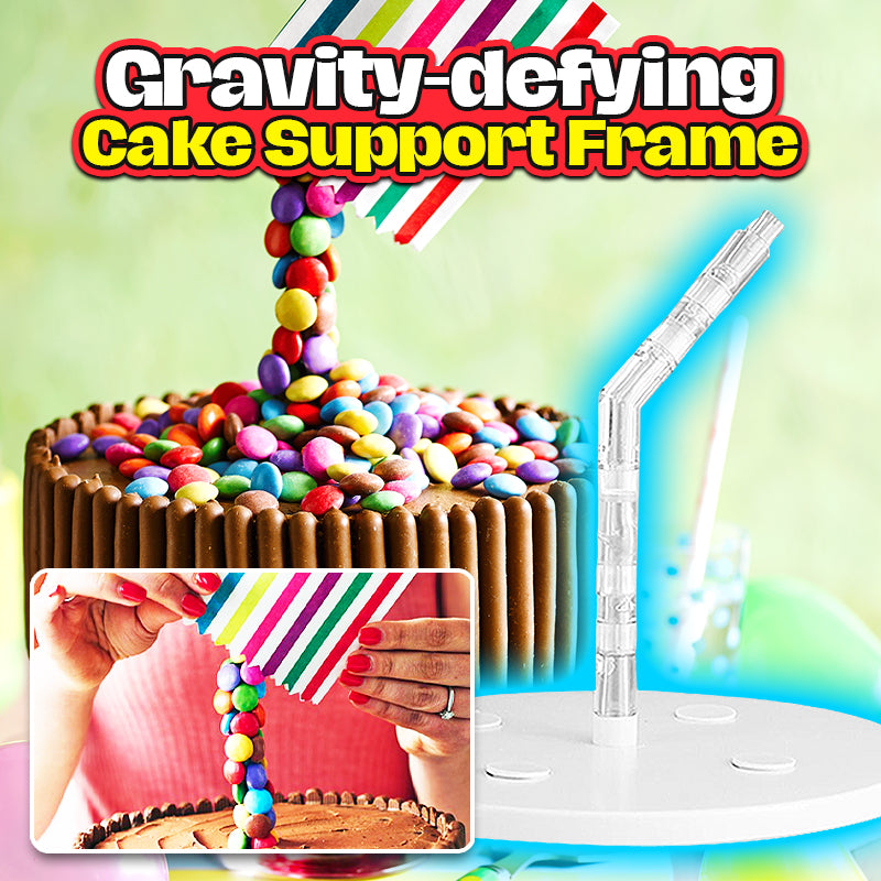 Gravity-defying Cake Support Frame