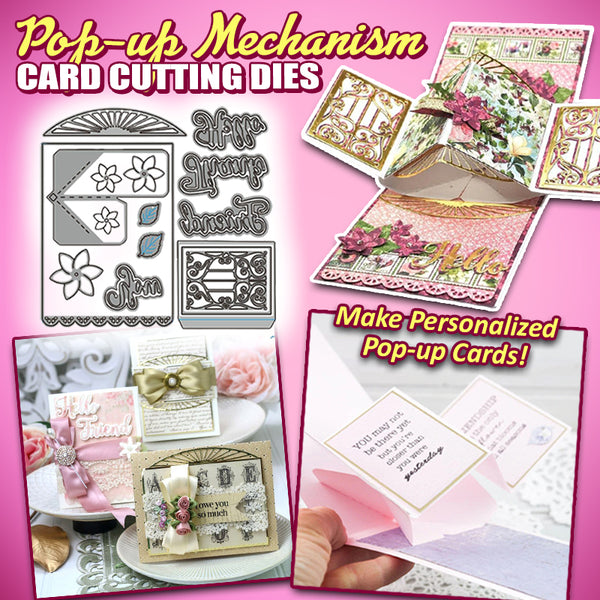 Pop-up Mechanism Card Cutting Dies