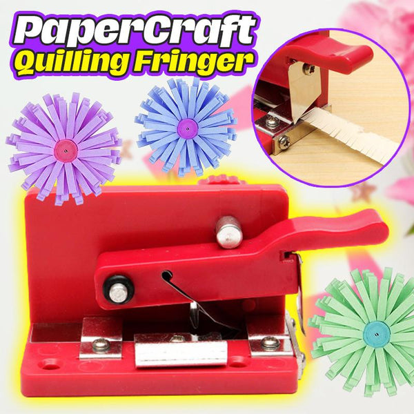 PaperCraft Quilling Fringer