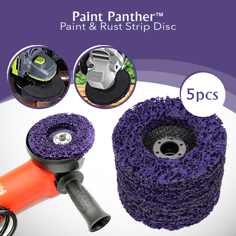 Paint Panther - Paint & Rust Strip Disc (5pcs)