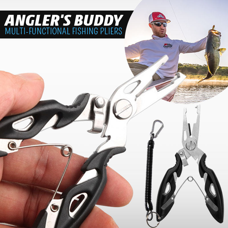 Angler's Buddy Multi-functional Fishing Pliers