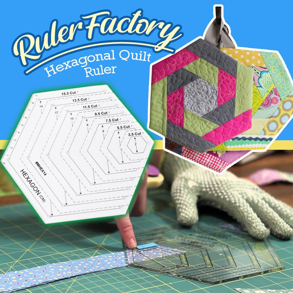 Hexagonal Quilt Ruler