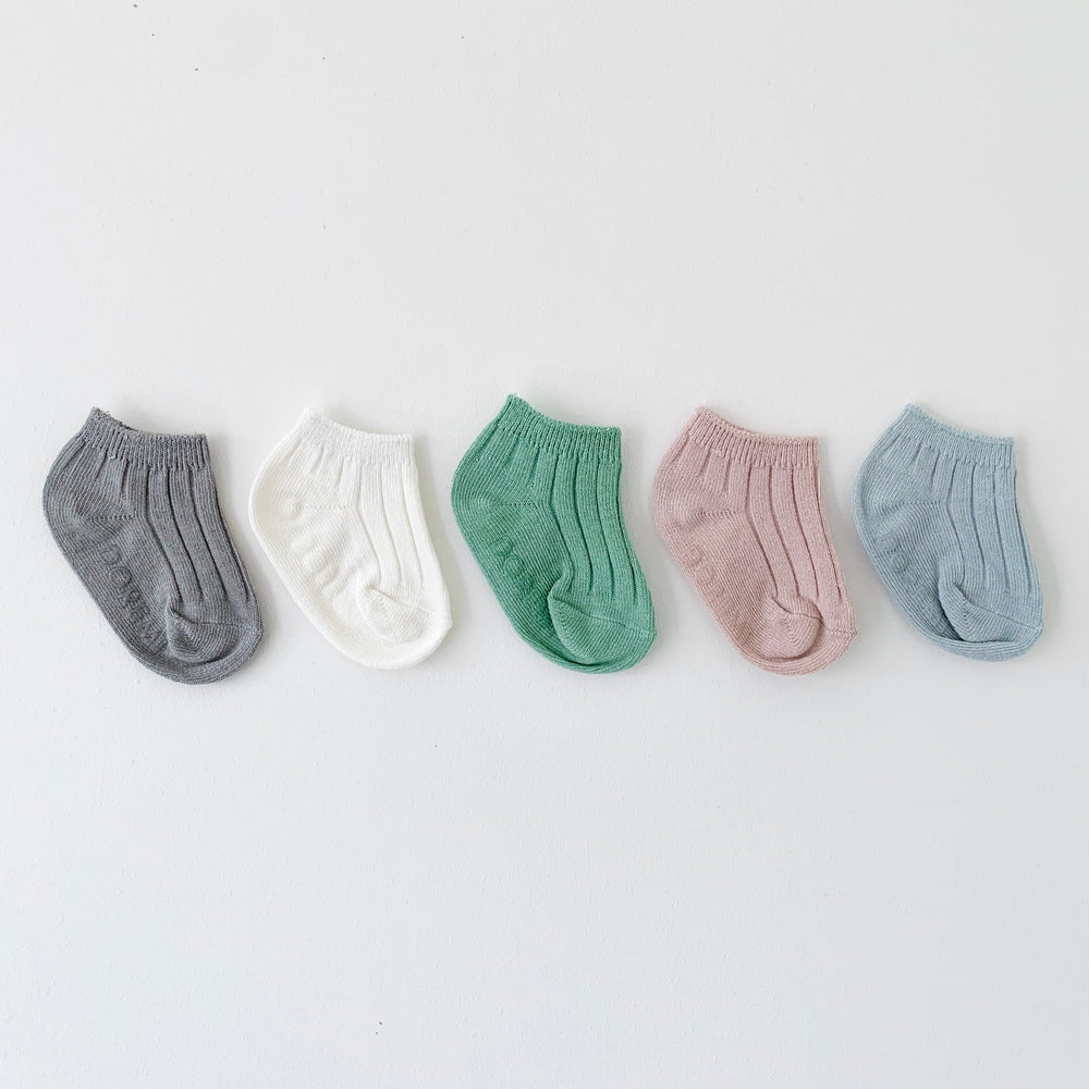 DOREMI ANKLE SOCKS PLAIN