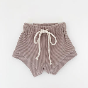 TINY TROVE WATEGOS SHORTS TAUPE
