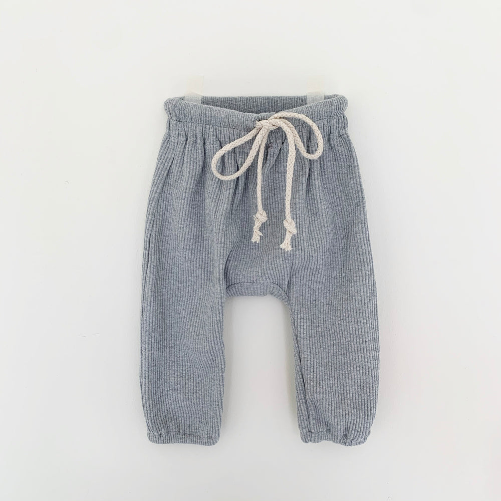 TINY TROVE IGGY TRACK PANTS GREY