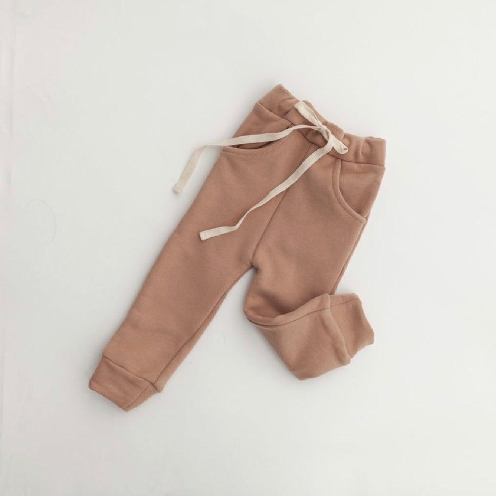 KINDLY SLIM FIT JOGGERS EARTH