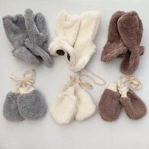 FROM J FLUFFY BOOTIES GREY/CREAM/BROWN