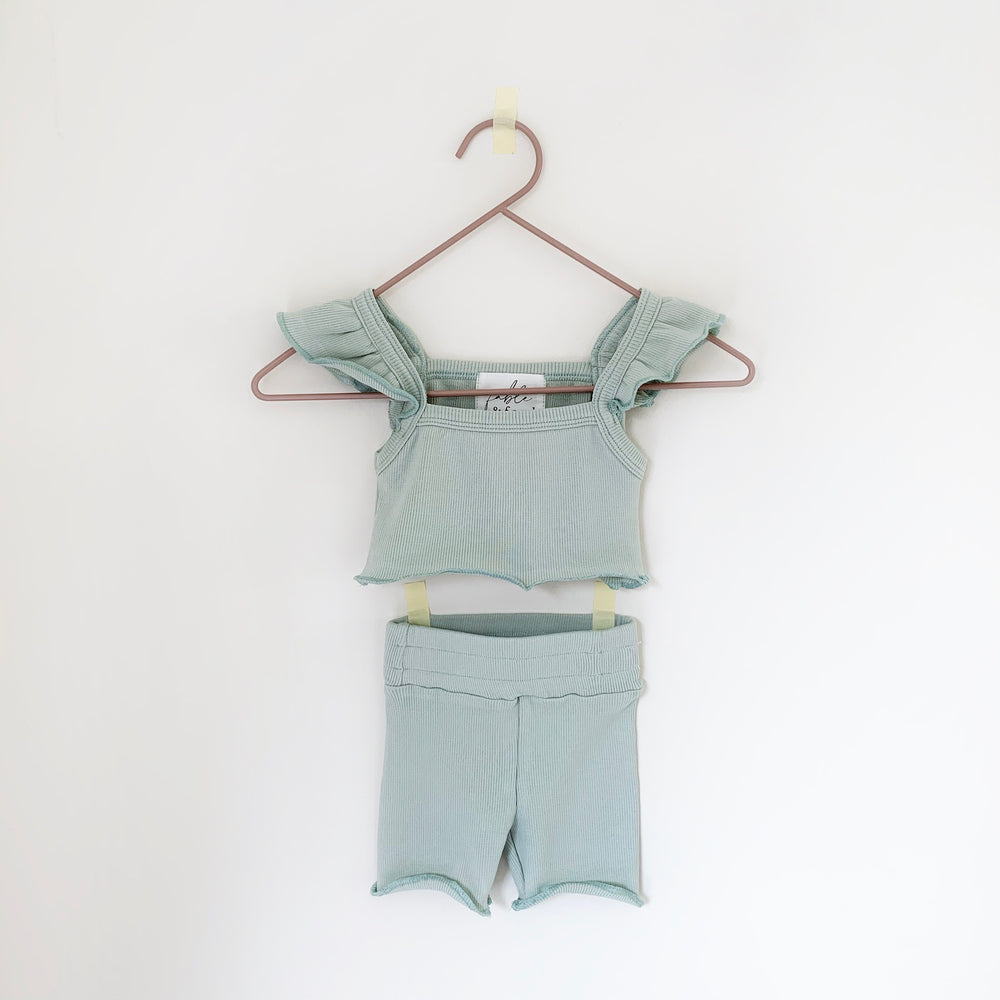 FABLE AND FORD BOHEME CROP SAGE