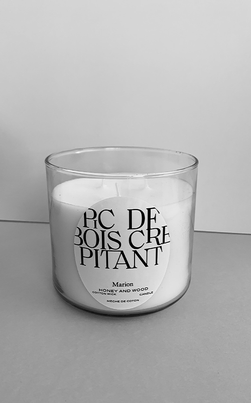 Candle bougie de soja & cotton wick