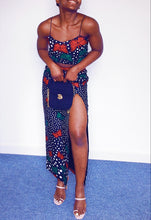 Load image into Gallery viewer, Arewa Swirl-Waist Skirt Set