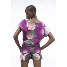 Load image into Gallery viewer, Tara V-neck Shirt and Shorts set